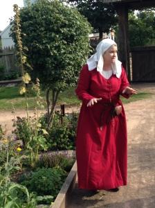 Medieval herbalist garden